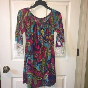 Cute dress tunic. Size L-XL